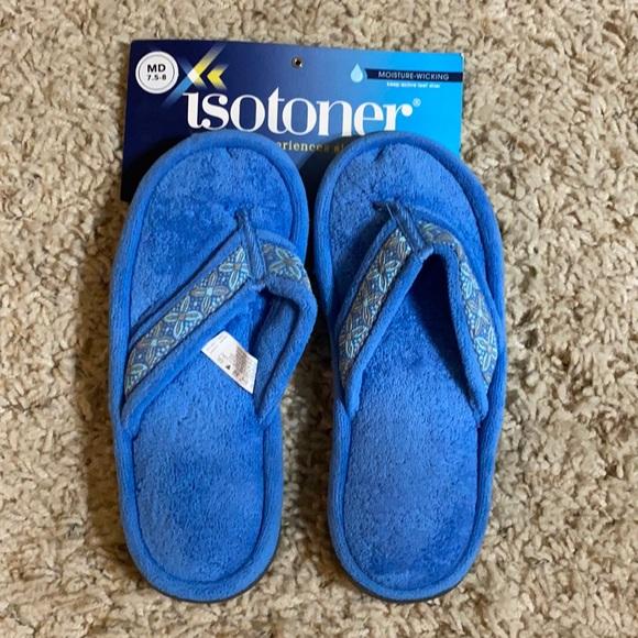 NWT women's flip flop house shoes